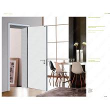 Modern Wood Bedroom Door, Meranti Wood Dubai Door, Metal Gate Designs