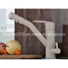 Grifos de cocina de 3 maneras saludables de lujo con grifo de filtro de flujo de agua pura