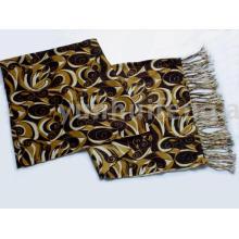 bufanda del encanto de la cachemira de Pashmina de las señoras impresa
