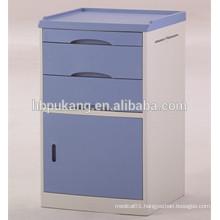 D-12 ABS material hospital use saftey bed side locker