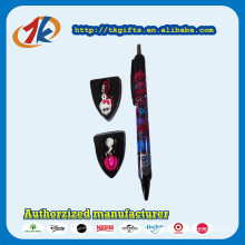 Promotion Items Plastic Pen Toy with Two Mini Pendant