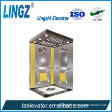 Villa Aufzug mit Ti Gold Radierung