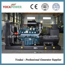 100kw /125kVA Diesel Generator Powered by Doosan Engine (D1146T)