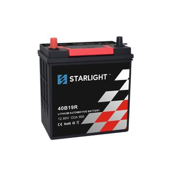 Batterie au lithium automobile 12.8V LiFePO4 40B19R