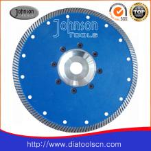 Lame de scie Turbo de 230 mm pour la coupe de granit avec haute performance