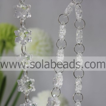 On-line 27mm cristal Beading cortina Garland
