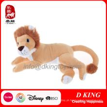 Peluches macios enchidos do brinquedo do luxuoso do leão
