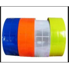 Ein reflektierendes Kristallband aus PVC