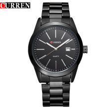 Curren Casual Business Reloj de acero inoxidable de cuarzo