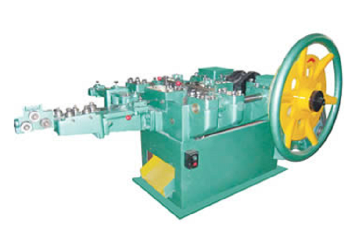 Double Cap Nail Making Machine