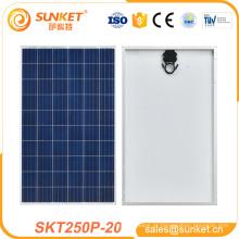 painel solar de pequeno pedaço retangular painel 250w poli Nenhum mínimo Sobre
