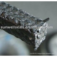 Graphite Packing product with Carbon Fiber Corners