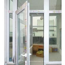 Boa qualidade e preço razoável PVC / UPVC Casement Window