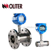 stainless steel liquid sewage turbine flow meter water