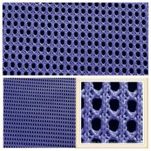 Tissu respirant de maille de polyester pour la couverture de siège de chaussures de sport