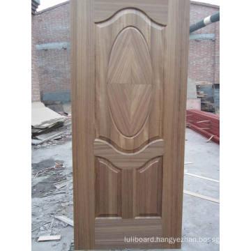 HDF Molded Teak Veneer Door Skin