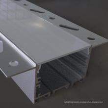изготовленный на заказ светодиодный алюминиевый профиль и пластиковый отражатель