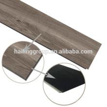 Wood grain unilin click system vinyl flooring pvc flooring plank