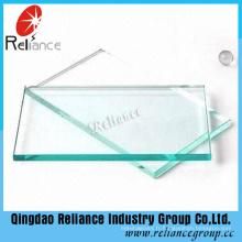 Utilisation de verre de flotteur clair de 3mm-19mm dans la construction, la trempe, la décoration