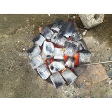 Prix le moins cher, sciure à ruban, briquette, charbon de bois / Vente directe d'usine sciure hexagonale barbecue charbon de briquet prix
