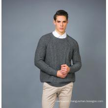 Men′ S Fashion Cashmere Blend Sweater 17brpv075