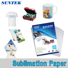 Großhandel hohe Qualität A3 A4 Roll Sublimation Transferpapier