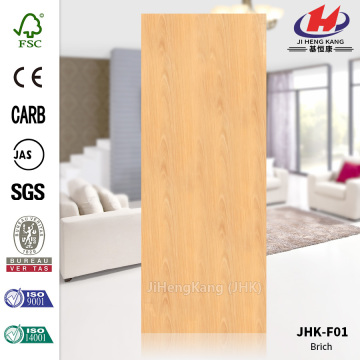 Flush Smooth Natural Birch Veneer Door skin