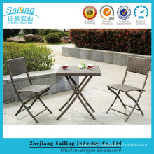 All Weather Alum Frame Structure Rattan Wicker Bar And Garden Furniture
