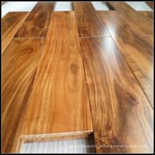 Goldener Acacia Massivparkett Bodenbelag / Holzboden