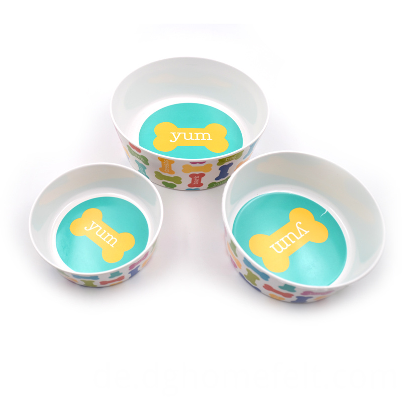 Dishwasher Safe Melamine Bowl for Pets