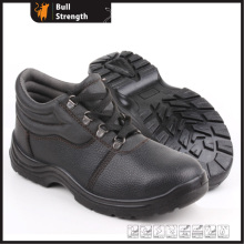 Industrial Leather Safety Boots with Steel Toe and Steel Midsole (SN5260)