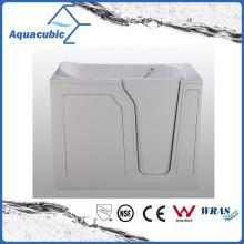 Acrylic Walk-in Wheelchair Safe Bathtub for Disabled (AB-2848LW)