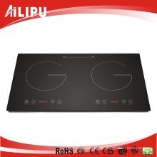 Ailipu 220V 3600W 2 Burns Sensor Touch Induction Cooktop Sm-Dic08