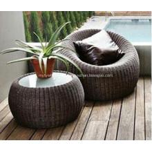 Muebles de exterior modernos con almohada