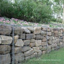 Boîte de Gaibon de grillage soudé pour la cage en pierre