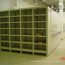 Light Duty Mobile Storage Rack / estante móvil de carril de guía