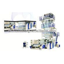 Máquina de soplado de film adhesivo de PVC Máquina de soplado de film tipo PE Máquina automática de film soplado