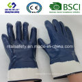 Twice Dipped Oil Proof Nitrile Gloves Safety Industrial Work Glove