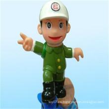 China figura de fábrica Mejor Precio Policía Figura hombre policía militar de juguete para la promoción