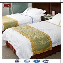 Новый дизайн King Size Jacquard Hotel Украшенный Bed Runner
