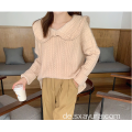 Hot Sale Fashion French Kragen lose Pullover Pullover