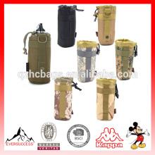 Saco de garrafa de água militar do exército tático ao ar livre chaleira Chaleira Pack titular