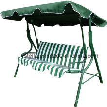 3 Seat Garden Outdoor Patio Canopy Beach Glider
