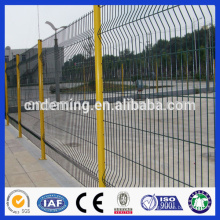 pvc curved welded wire mesh Fencing panels/Double wire mesh Garden Fence