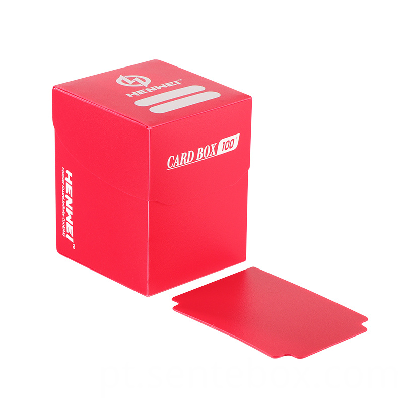 High quality game cards plastic collection packaging box