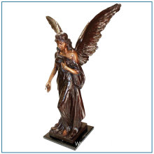 Church Religious Outdoor Large Bronze Angle Statue