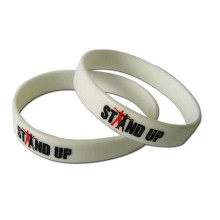 Factory Direct Manufacture High Quality Printed Debossed Silicon Bracelet
