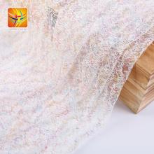 Tissu de tulle en maille colorée pour robe de haute qualité