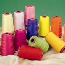 Bon fil de couture de stabilité de couleur