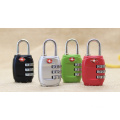 Portable cadenas Tsa Zinc alliage verrouillage REARMABLE